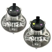 Front Left And Right Wheel Bearing And Hub Assembly Kit Timken For Lexus Is F Rwd