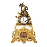 French Mantel Clock From The Workshop Of Japy Freres