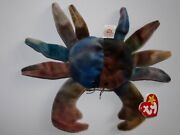 Super Rare Ty Beanie Baby Claude The Crab Multiple Errors Tags Bright And Clean