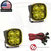 Baja Designs Squadron Pro Pair Flood/work Amber 4900 Lumens Led 49-7816