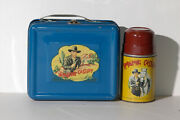 Hopalong Cassidy 1950 Lunch Box /w Thermos