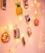 20 Led Photo Clips String Lights Battery Operated Warm White For Andnbspbulk 648 Units