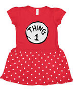 Infantsand039 And Toddlersand039 Thing 1 And Thing 2 Baby Rib Dresses Sold Separately
