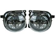 Pair Set Left And Right Genuine Fog Light Lamps Dynamic Lighting For Bmw F10 F11