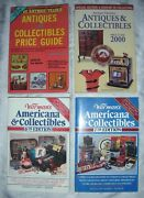 Lot Of 4 Antiques Collectibles Price List Books - Warmanand039s And Antique Trader