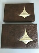 1972 Cadillac Dealer Books Color And Upholstery Books 2 Showroom Books Excellent
