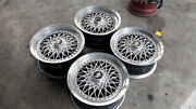 Jdm Volk Racing Rays Eng 16 Mesh Wheels Rs Staggered For Ae86 240z S30 S130