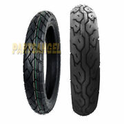 Front Rear Max Motosports Motorcycle Tires 90/90-21 And 130/80-17