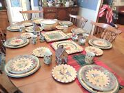 Lenox Set For The Holidays Winter Greetings Christmas Everyday 43 Piece Set