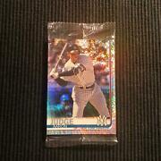 2019 Topps Factory 150 Aaron Judge Sparkle Foilboard /162 Still Sealed Pack