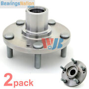 Pack Of 2 Wjb Spk601 Front Wheel Hub Spindle For Hyundai 51750-3a003 930-601