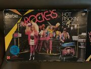 Barbie And The Rockers Hot Rockin' Stage 1144 ©1985 — Stage/dressing Room Mattel