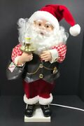 Telco Motionette Animated Santa Mailbag Lights Up 24andrdquo