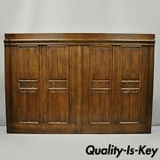 Ethan Allen Tester Bed King Size Royal Charter Oak Headboard Panel Only Parts