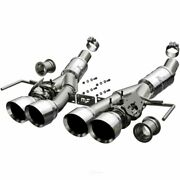 Exhaust System Kit-competition Series Stainless Axle-back System Fits Corvette