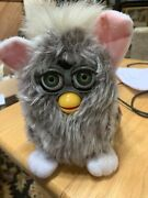 1998 Original Furby Model Number70-800 Gray And Pink