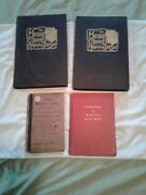 Lot /4 Vintage Music Musical Terms Dictionary, History And Human Comedy Old Books