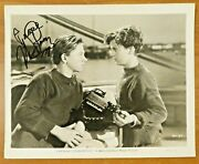 Mickey Rooney Signed Vintage Captains Courageous Movie Promo 8x10 Photo