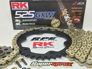 Ktm 1290 Superduke Gt 2016-18 Rk Gxw525 Xw-ring Race Chain And Sprockets Kit