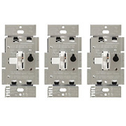 Lutron Toggler C.l Dimmer Switch For Dimmable Led Halogen And Incandescent Bu...