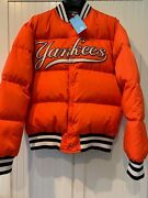 Jacket Down With Ny Yankees-appliquandeacuted L