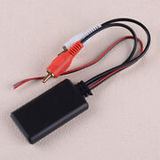 Universal Car Stereo Music Aux 2rca To Wireless Bluetooth Module Adapter Cable