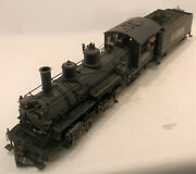 On3 Brass/cast Mmi/psc Rio Grande Southern K27 2-8-2 455 Fac Paint/weathered