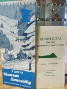 Vintage Minnesota Snowmobile1969-1970 Safety Laws Booklet And Guide To Mn Snowmobi