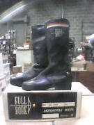 Boots - Ladies Size 7 1/2 Blue -vintage Full Bore Leather