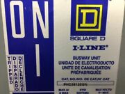 Square D Phd36125gn I-line Bus Plug 125a 600v 3 Phase 4 Wire Clean