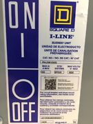 New - Square D Phj36100g Bus Plug 100 Amp 600 Volt 3 Phase 3 Wire