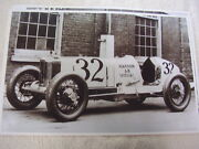 1928 Marmon Model 68 Race Car Number 32 11 X 17 Photo / Picture