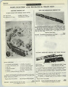 1958 Paper Ad 3 Pg Marx Electric Toy Freight Train Sets Mechanical Battery Tico