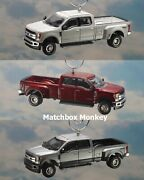 And03918 And03919 Ford F-350 Super Duty Crew Cab Dually Christmas Ornament F350 King Ranch