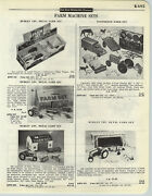 1958 Paper Ad Hubley Toy Metal Farm Sets Marx Milking Cow Sunnyfield