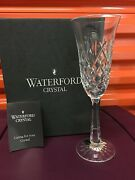 Waterford Crystal Flute Champagne Glass Drogheda Cut