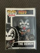 Funko Pop Pop Rocks - Kiss 'the Demon' Chase - [extremely Rare]