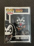 Funko Pop Pop Rocks - Kiss And039the Demonand039 Chase - [extremely Rare]