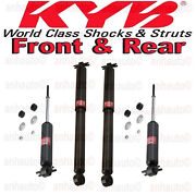 Set Of 4 Shock Absorbers Kyb Front+rear Chevy Gmc C1500 C2500 C3500 Tahoe Rwd