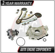 Timing Chain Kit + Oil And Water Pump Fits Ford Town Car Grand Marquis 4.6l