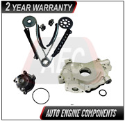 Timing Chain Kit And Oil Pump Water Pump Fits Ford Excursion E250 F150 5.4l Triton