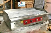 New 48 Electric Griddle Flat Grill Stove Countertop Nsf Etl 208/240v Commercial