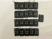 Lot Of 189 Wireless Remote Alarm Keychain Mix Model As Is