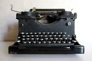 Antique Royal Typewriter Glass Sides Working Condition Price Reduced