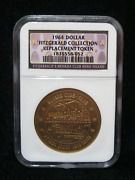 1964 Dollar Fitzgerald Collection Replacement Token Ngc Casino Chip