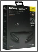 New Lg - Tone Platinum+ Bluetooth Headset Hbs-1125 And Free Shipping