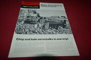 New Holland Baler Flail Pickup Attachment For 1968 Dealers Brochure Rcoh