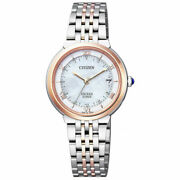 Citizen 2016 Exceed Euros Series Es1054-58w Womenand039s Watch New In Box