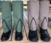 Gaiters-gold Prospecting No Metal Minelabsnake Protectionhiking - Free Post