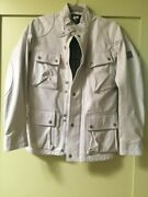 Belstaff Panther Leather Jacket. Color Cream Antique Leather Style So Coloring
